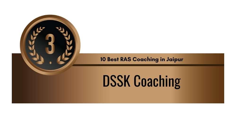 Rank 3 in 10 Best RAS Coaching in Jaipur