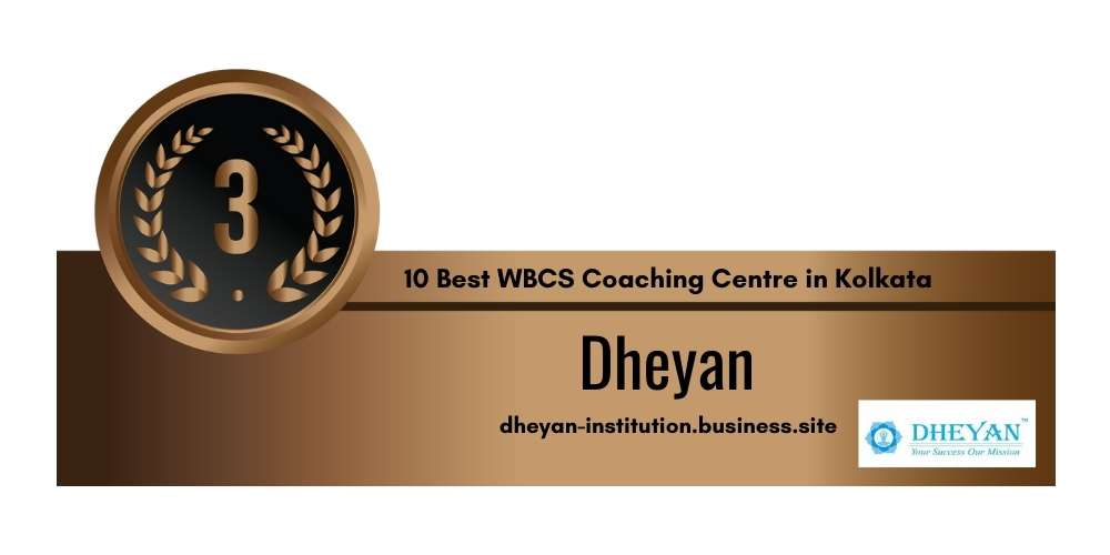 Rank 3 in 10 Best WBCS Coaching Centre in Kolkata