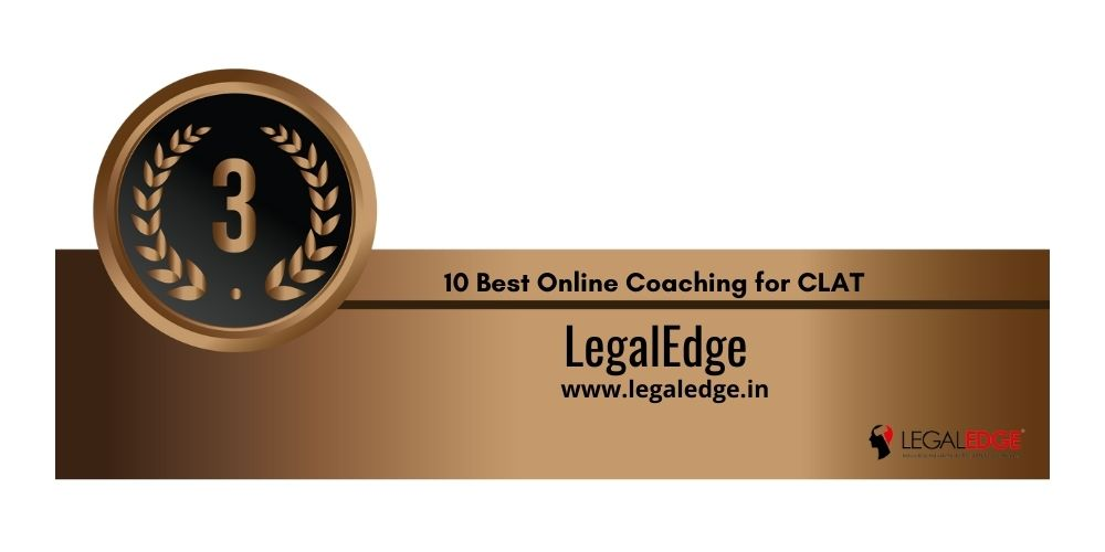 Rank 3 online coaching for clat