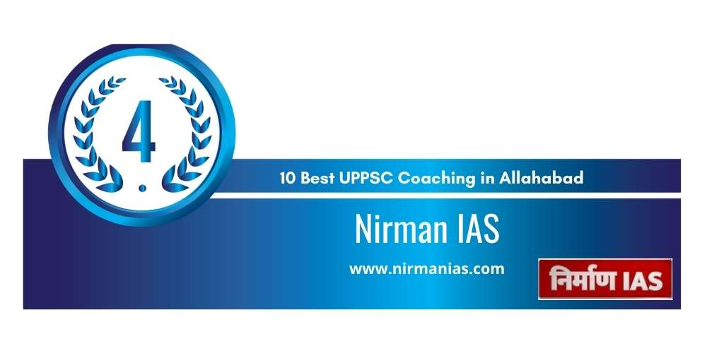 Rank 4 in 10 Best UPPSC Coaching in Allahabad