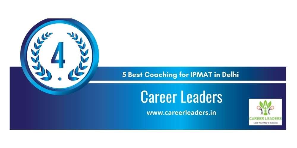 Career Leaders Delhi at Rank 4