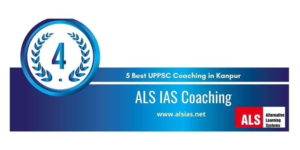 Rank 4 in 5 Best UPPSC Coaching in Kanpur