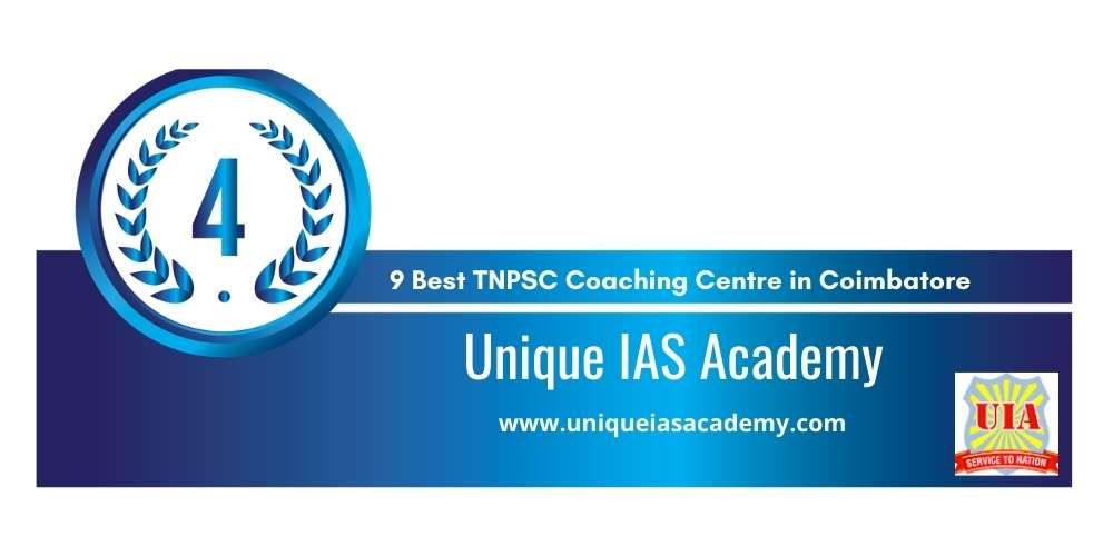 Rank 4 in 9 Best TNPSC Coaching Centre in Coimbatore