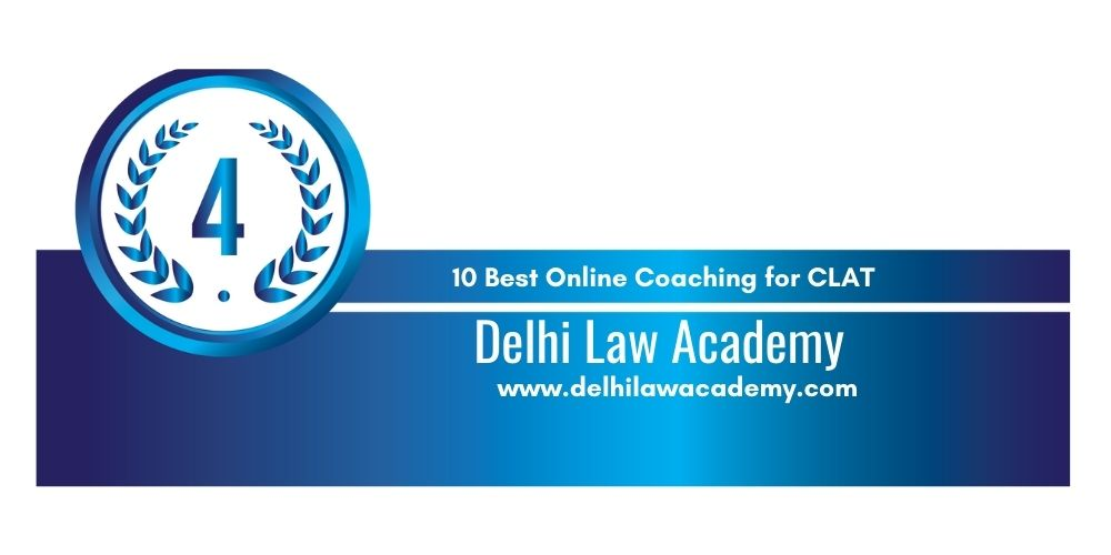 Rank 4 online coaching for clat