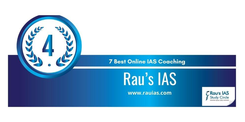 rank 4 online ias coaching