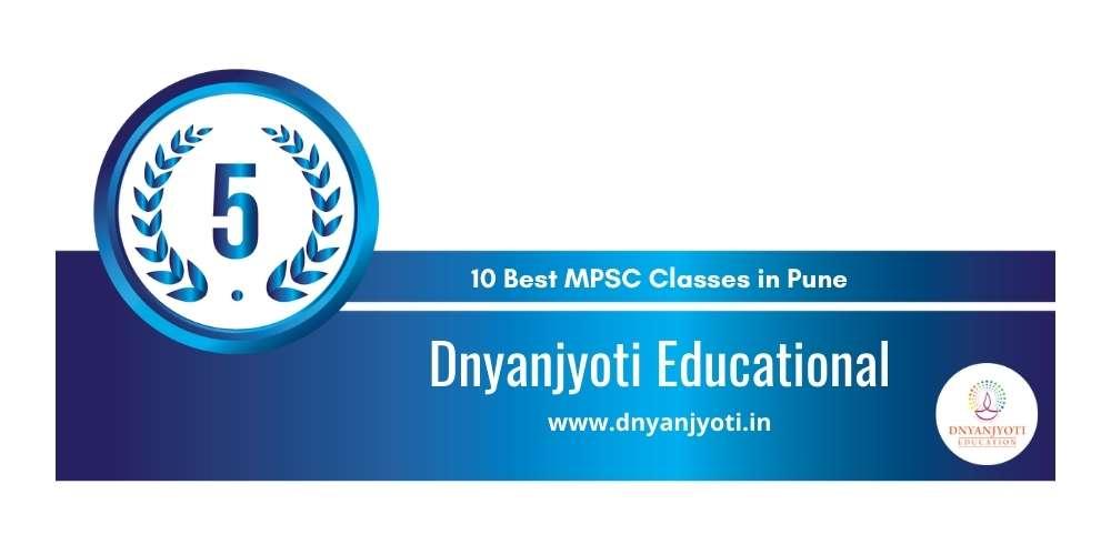 Rank 5 in 10 Best MPSC Classes in Pune