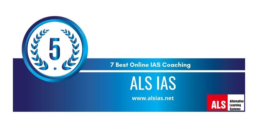 rank 5 online ias coaching