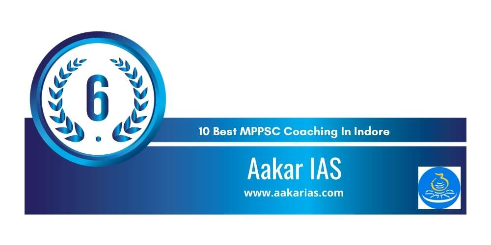 Rank 6 in 10 Best MPPSC Coaching In Indore