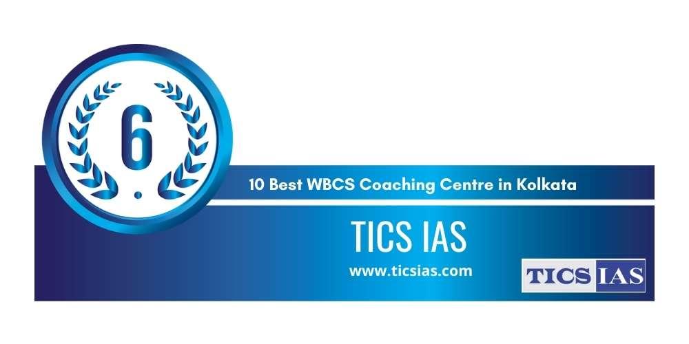 Rank 6 in 10 Best WBCS Coaching Centre in Kolkata