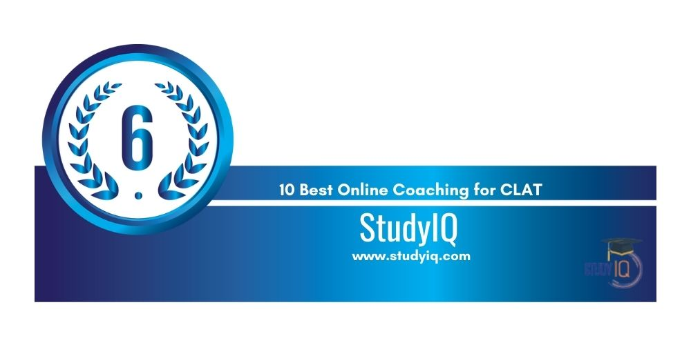 Rank 6 online coaching for clat
