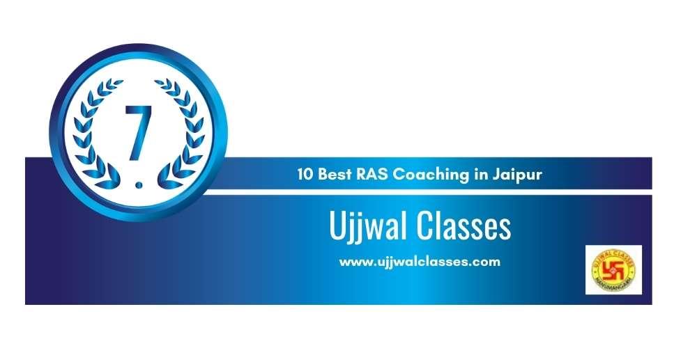 Rank 7 in 10 Best RAS Coaching in Jaipur