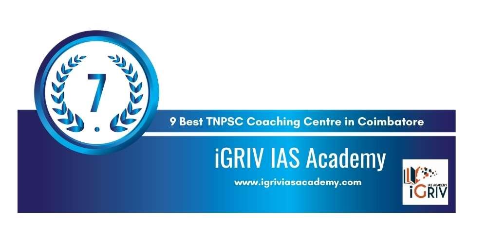 iGRIV IAS Academy at Rank 7