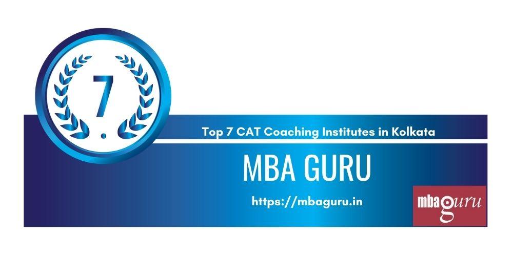 Rank 7 in Top 7 CAT Coaching Institutes in Kolkata