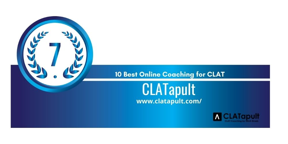 Rank 7 online coaching for clat