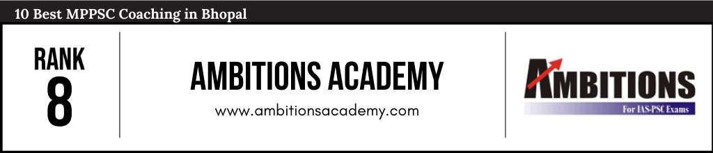 Ambitions Academy at Rank 8