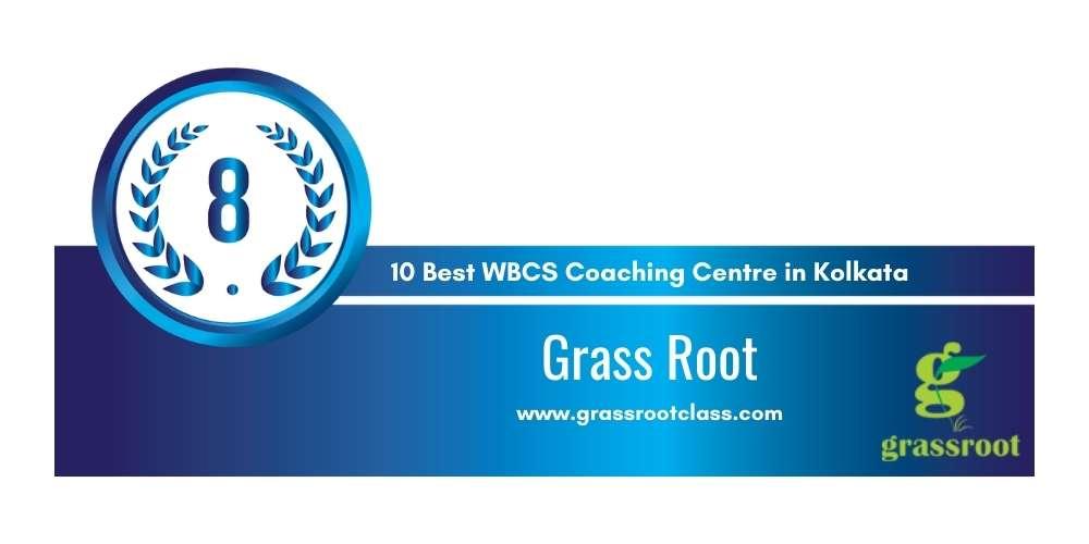 Grass Root Kolkata at Rank 8