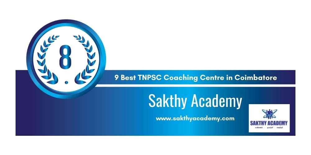Sakthy Academy at Rank 8