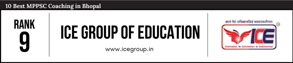 ICE Group of Education at Rank 9