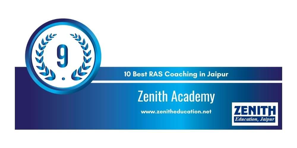 Zenith Academy at Rank 9