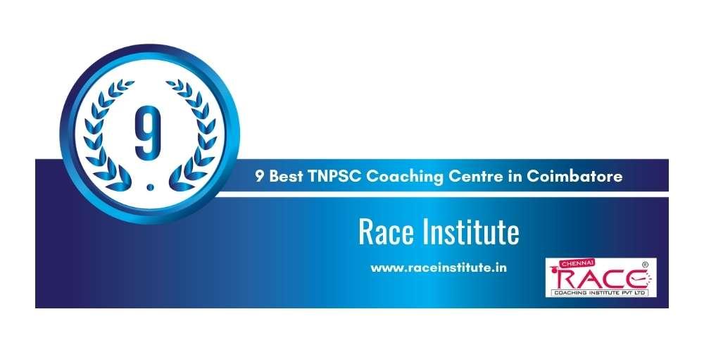 Race Institute at Rank 9