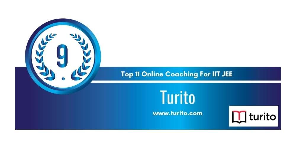 Rank 9 in Top 11 Online Coaching for IIT JEE