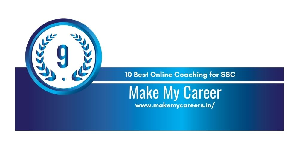 Rank 9 online coaching for ssc