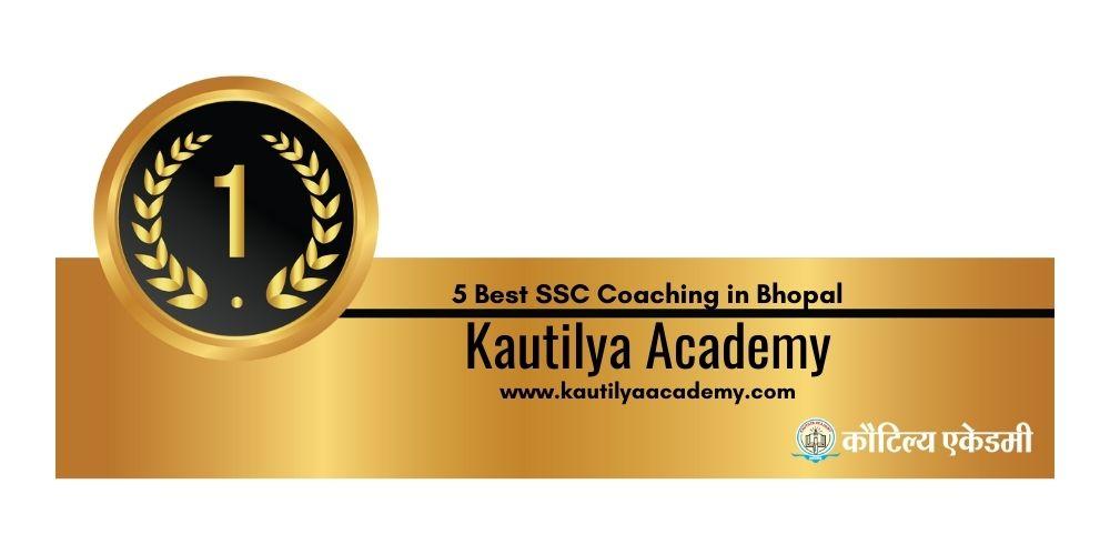 Rank 1 Best Coaching for SSC in Bhopal