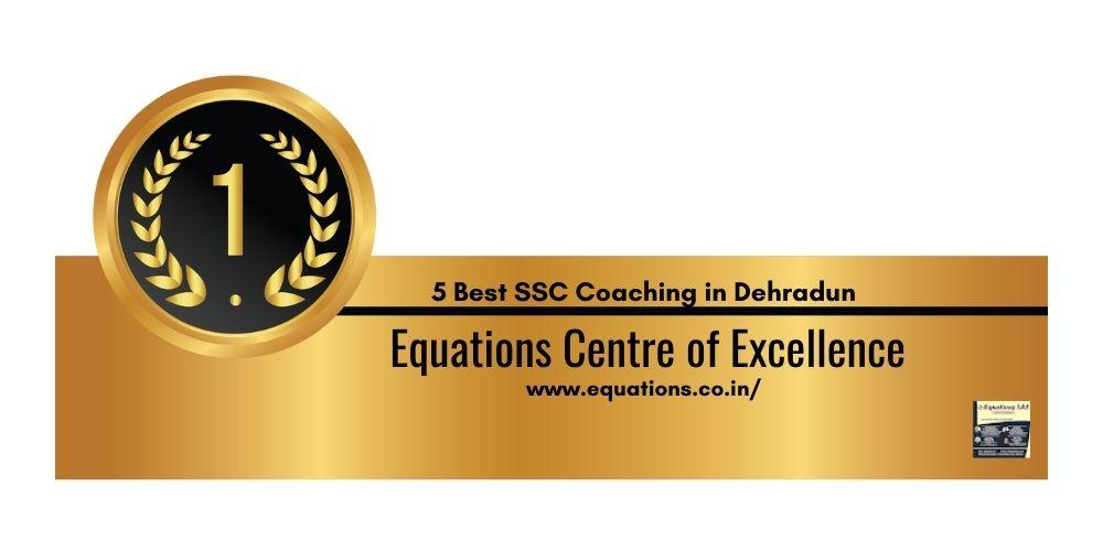Rank 1 Best Coaching for SSC in Dehradun