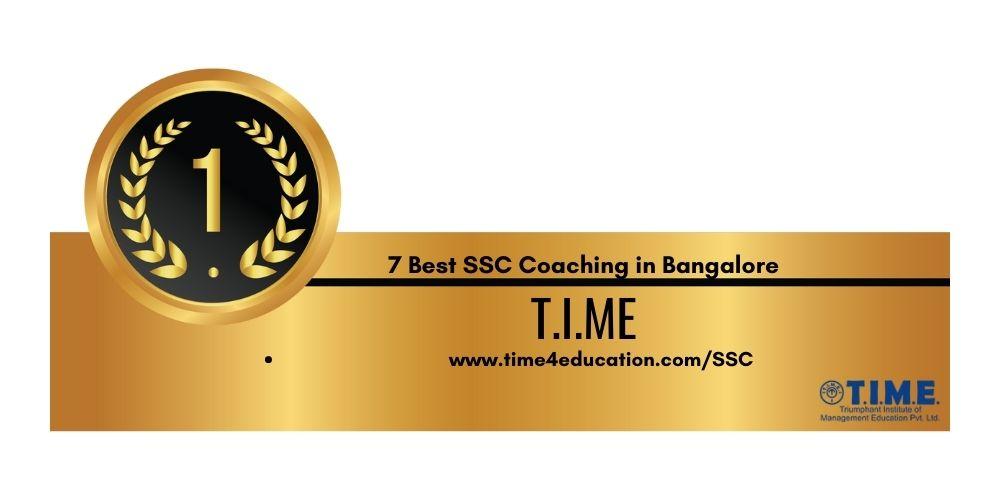 Rank 1 Best SSC Coaching in Bangalore