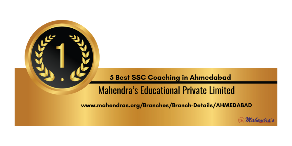 Rank 1 SSC Coaching in Ahmedabad