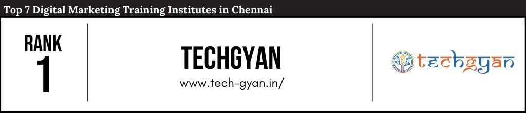 Rank 1 Top Digital Marketing Courses in Chennai