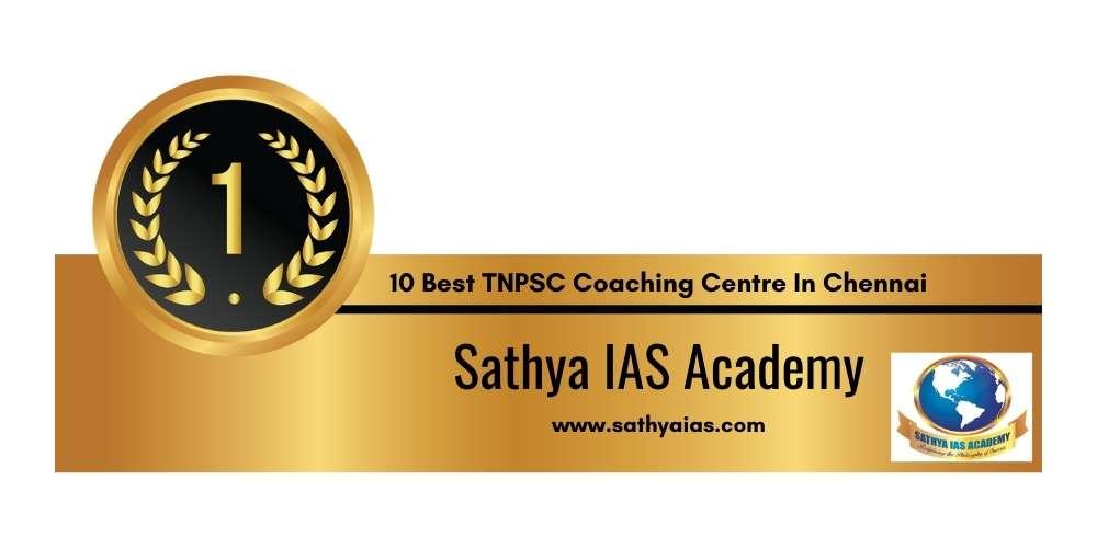 Rank 1 in 10 Best TNPSC Coaching Centre in Chennai