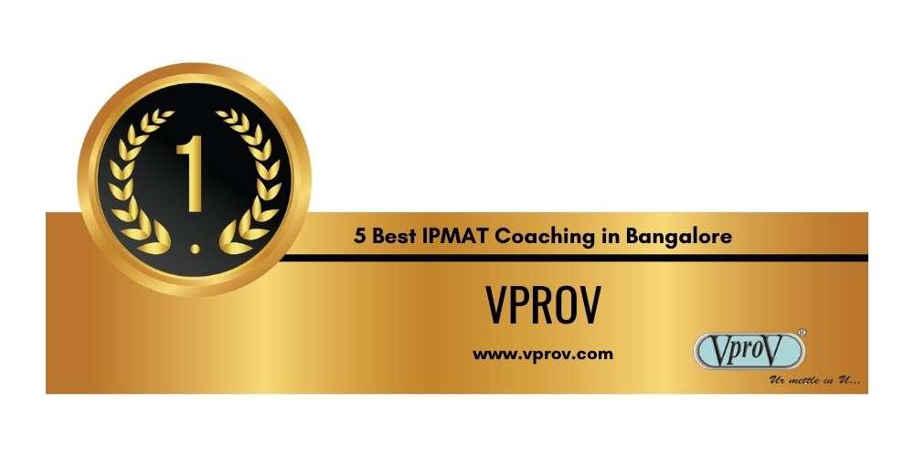 Rank 1 in 5 Best IPMAT Coaching in Bangalore