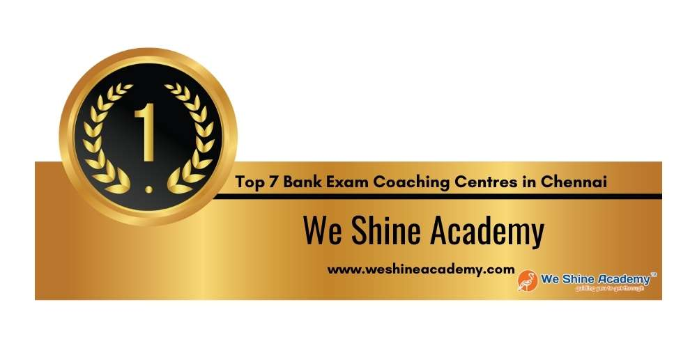 Rank 1 in Top 7 Bank Exam Coaching Centres in Chennai