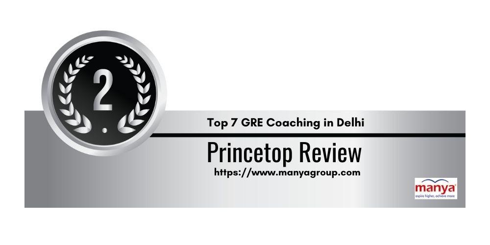 Rank 2 GRE Coaching in Delhi