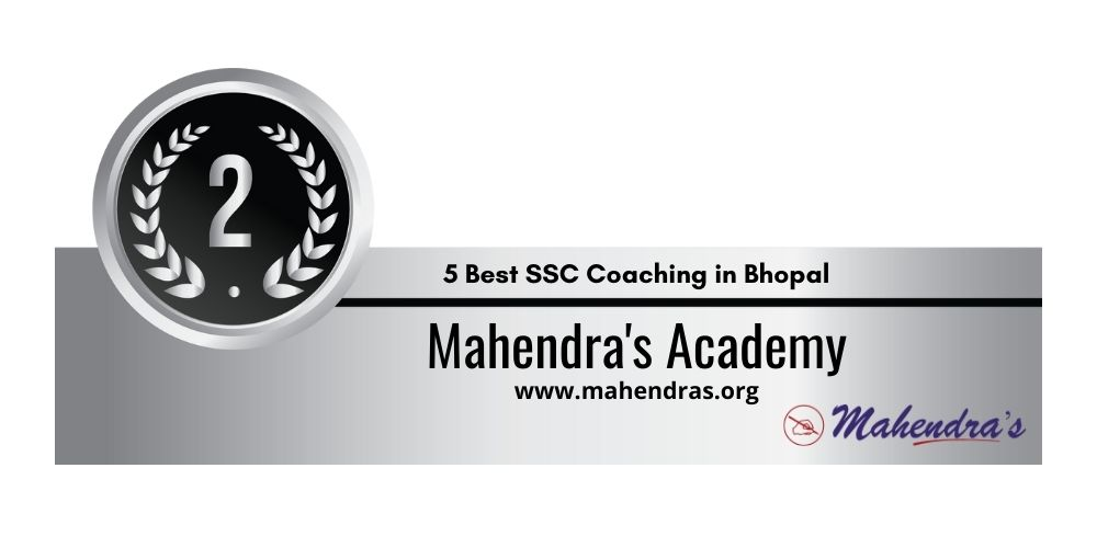 Rank 2 Mahendra Coaching Classes in Bhopal