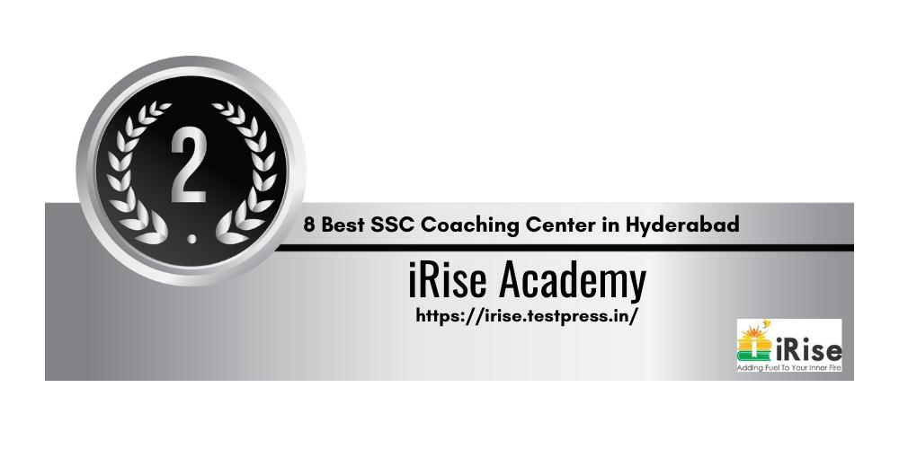 Rank 2 SSC Coaching Center in Hyderabad