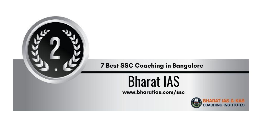 Rank 2 SSC Coaching in Bangalore