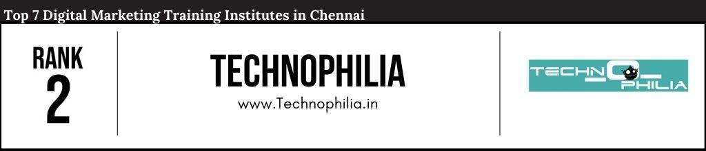 Rank 2 Top Digital Marketing Courses in Chennai