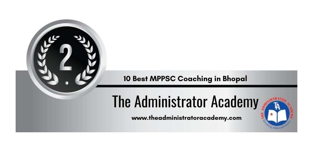 Rank 2 in 10 Best MPPSC Coaching in Bhopal