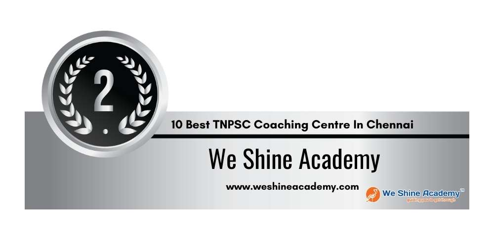Rank 2 in 10 Best TNPSC Coaching Centre In Chennai