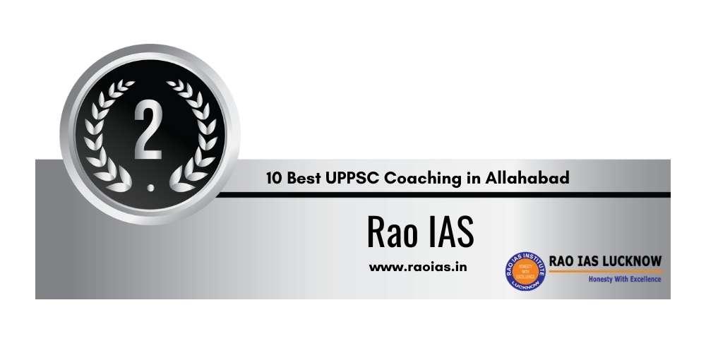 Rank 2 in 10 Best UPPSC Coaching in Allahabad