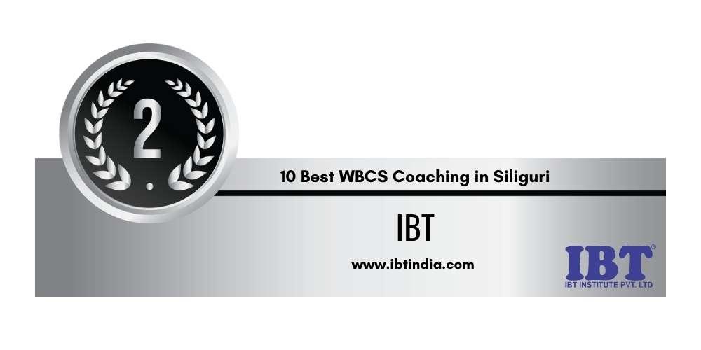 Rank 2 in 10 Best WBCS Coaching in Siliguri