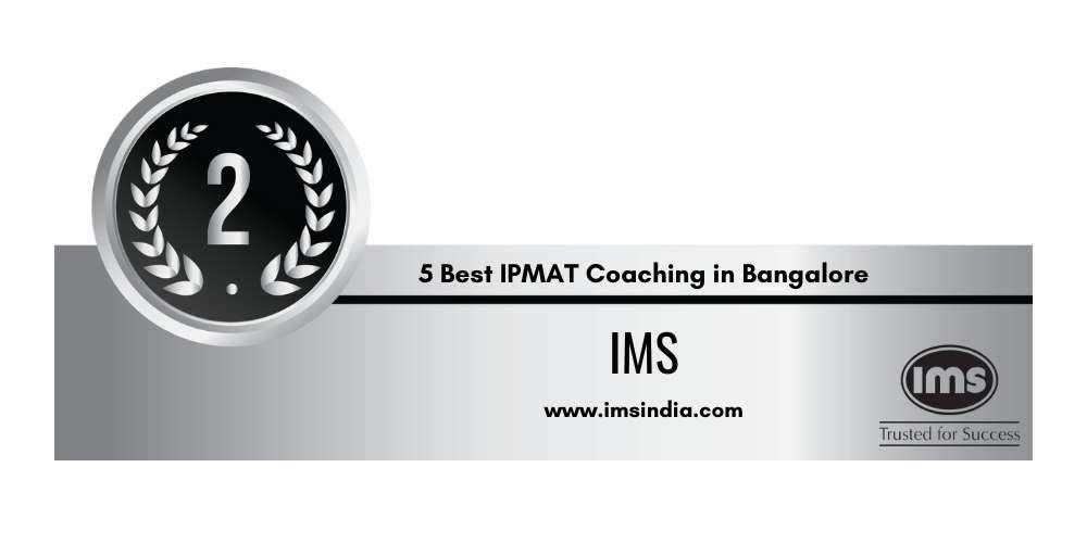 Rank 2 in 5 Best IPMAT Coaching in Bangalore