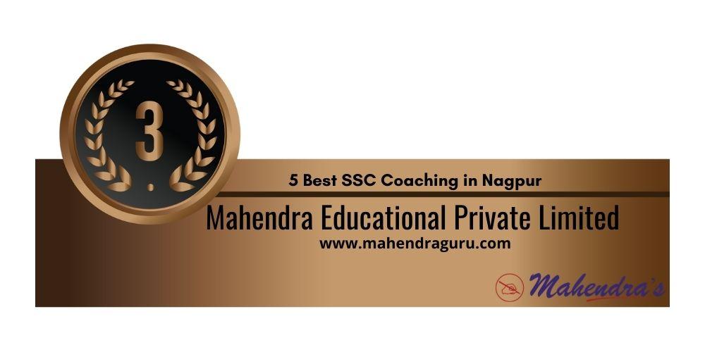 Rank 3 SSC CGL Coaching in Nagpur