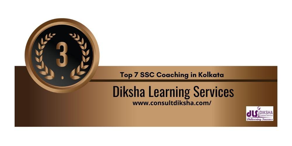 Rank 3 SSC Coaching in Kolkata