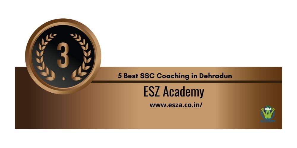 Rank 3 SSC JE Coaching in Dehradun