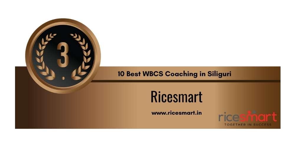Rank 3 in 10 Best WBCS Coaching in Siliguri