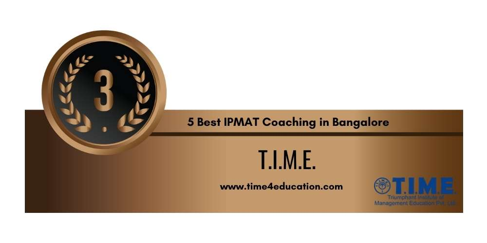 Rank 3 in 5 Best IPMAT Coaching in Bangalore