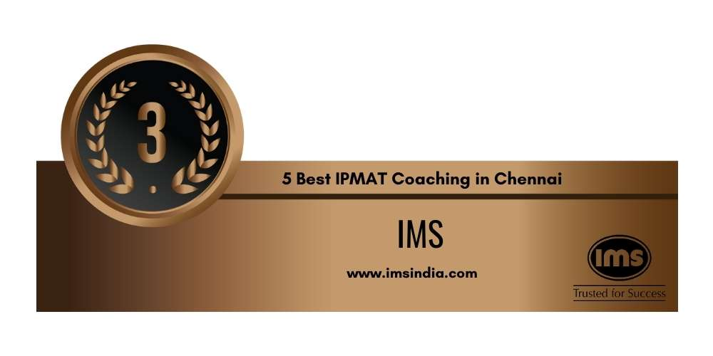 Rank 3 in 5 Best IPMAT Coaching in Chennai